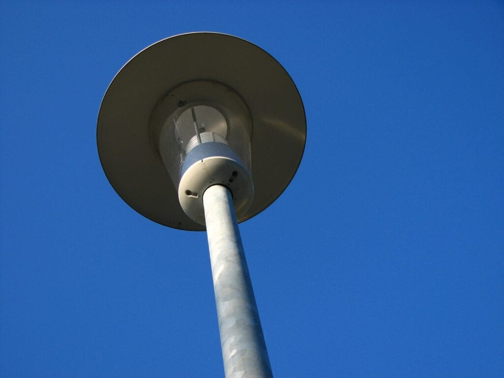 Tijdelijke openbare straatverlichting