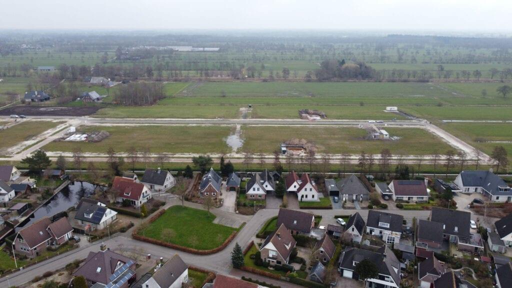 Voortgang bouw (met dronefoto's)